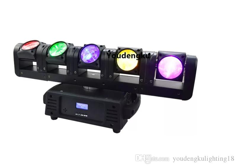 Stage Lighting Effect Commercial Lighting 1x New Arrival Dj Powerful Led Moving Fog Machine 5r 7r Moving Head Light With 15*10w Rgbw 4in1 Led Colorful Smoke Machine