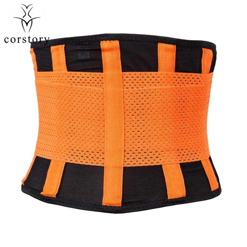 Corstory Waist Trainer Belt Waist Back Support Band Fitness Band Shaper Girdle Belt Pink Underbust Waist Control Corset