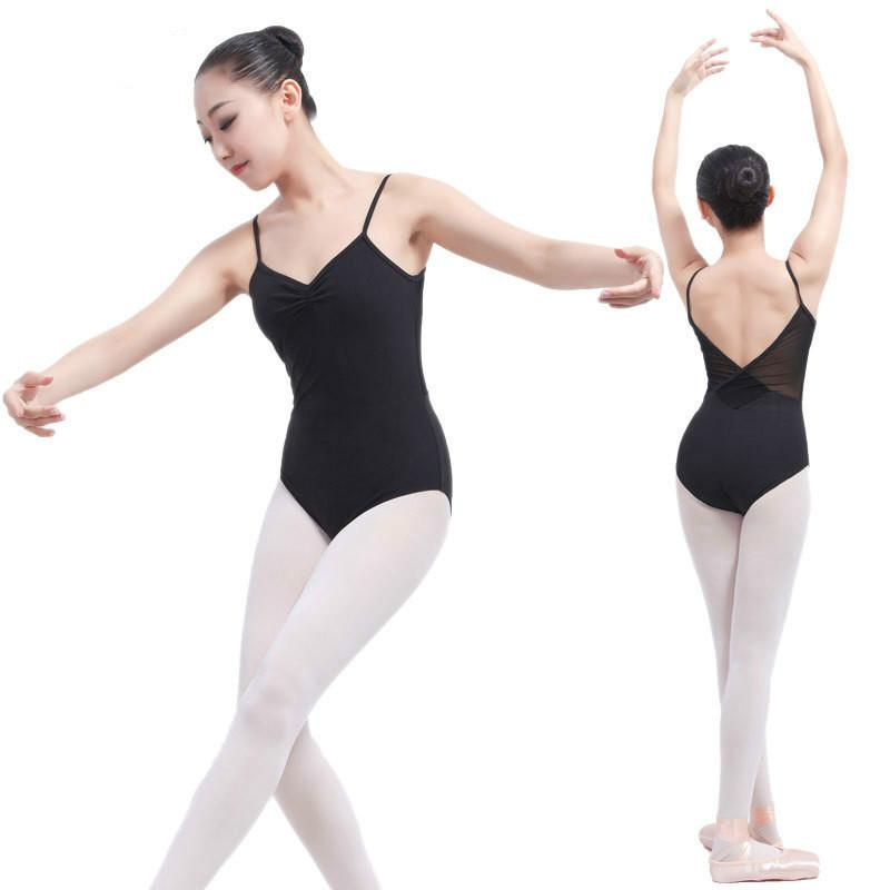 Stage & Dance Wear Ballet Ballerina Sleeveless Tutu Ballet Dress Gymnastics Leotard Women Dance Wear Backless Ballet Leotards For Women Dance Performance