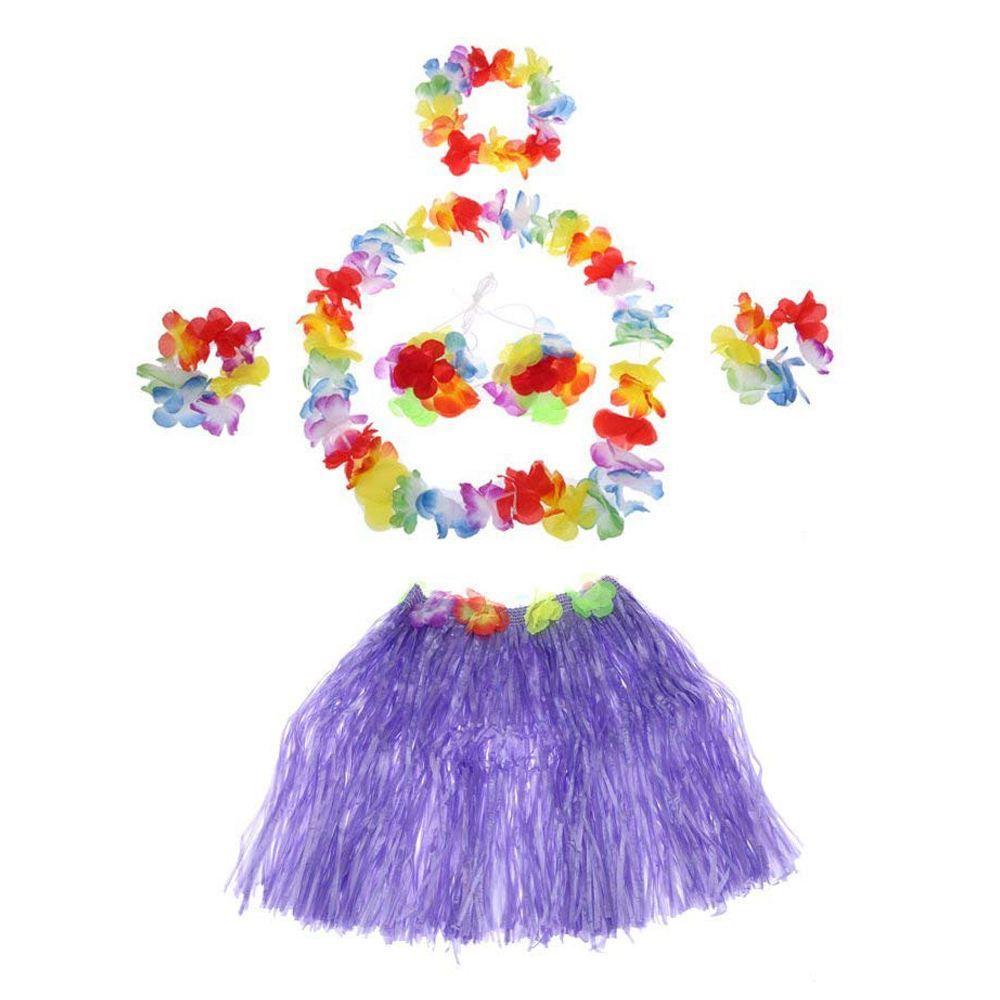 19ae9b3b8 Compre Juego De Faldas Hawaianas De Hula Para Niños Nuevo Juego De Faldas  Hawaianas De Baile Conjunto De Faldas Hawaianas De Hula Hula Traje De  Carnaval ...