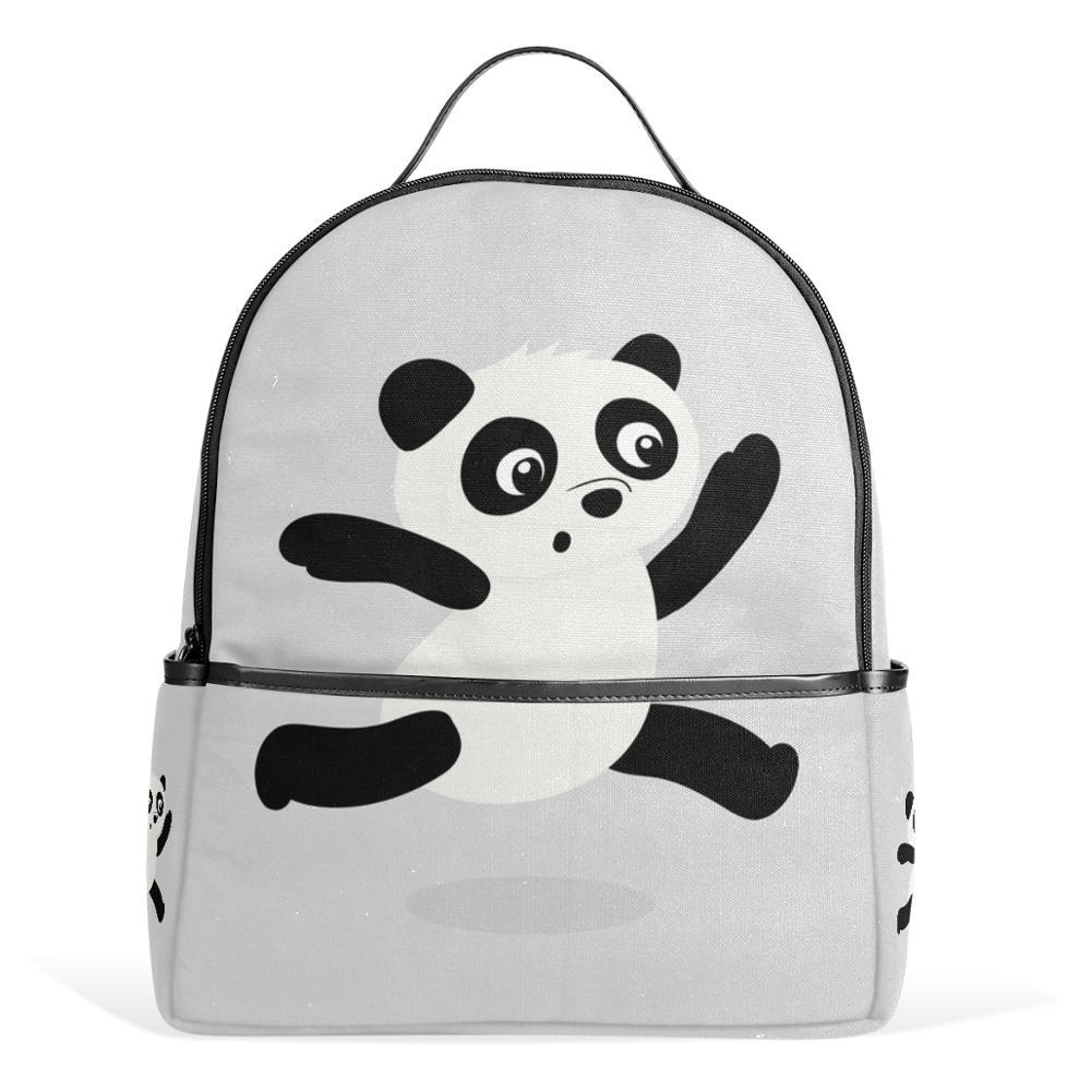 Unicreate Rucksack Panda School Bags For Teenager Girls And Boys Canvas  Zipper 12 Inch Backpacks Bags Men Backpack Daypack Cheap Backpacks Rolling  Backpack ... 667819c2c9
