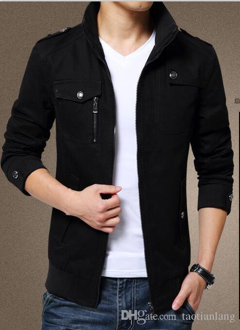 a38c6545095 Winter Fashion Brand Coat Men Outwear Jackets Mens Warm Overcoat Male Jacket  Slim Fit High Quality Mens Autumn Clothing Man Jackets J180902 Official  Jackets ...