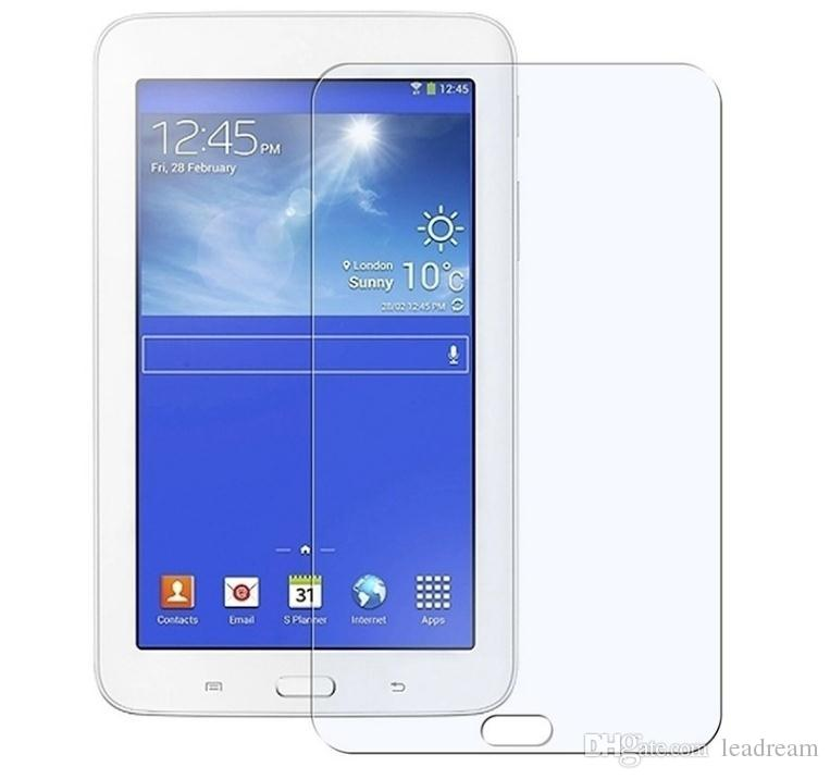For Samsung Tab T110 T210 T230 T280 T310 T320 T330 T350 T700 100% Genuine New Design 0.3MM 9H Tempered Glass 2.5D Screen Protector