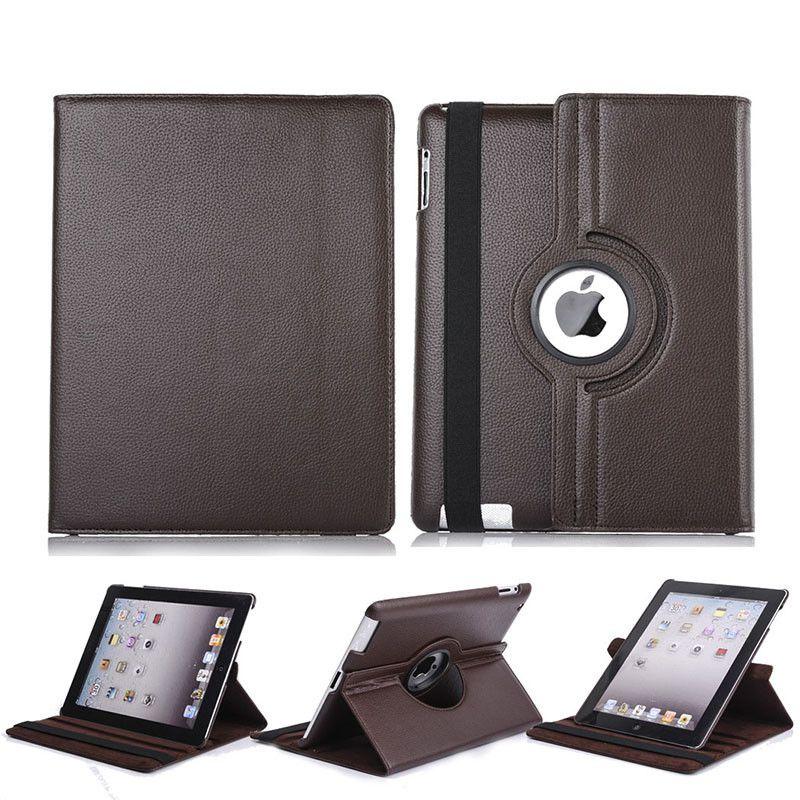 360 dreh Flip PU-Leder-Standplatz-Fall für iPad 10.2 Pro 11 10,5 9,7 2018 2 3 4 5 6 Mini Samsung Tab P200 T510 T515 T720 T590 T860 T290