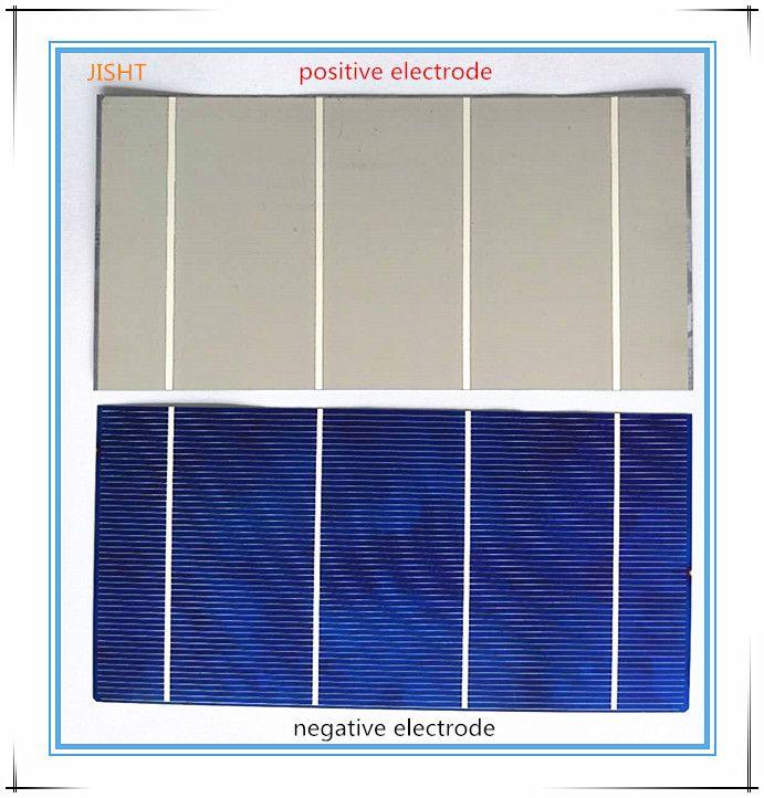KCHK Células Solares 100 UNIDS 156 * 104 MM de Potencia 2.95 W Policristalino No estándar 4bb para DIY Módulo Solar DIY Productos de Carga