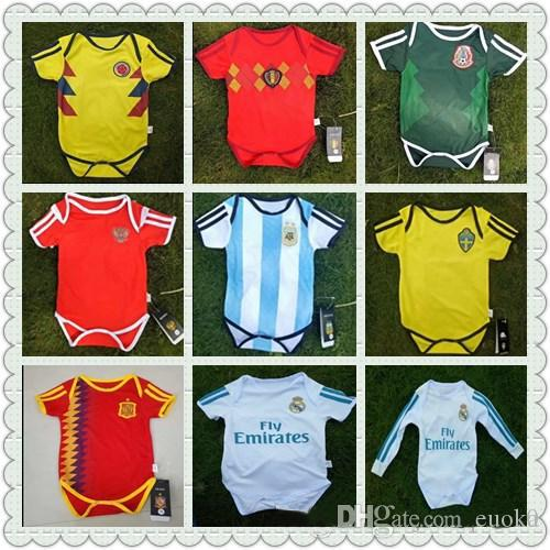 Discount Baby Jersey 2018 World Cup Baby Jersey Argentina Spain