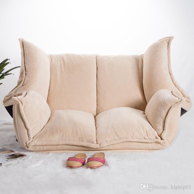 Compre Muebles De Piso Reclinado Futon Japones Sofa Cama Plegable