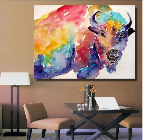 HDARTISAN Surrealism Wall Art Decoration Oil Painting on Canvas Human Body English Flag Paintings for Living Room