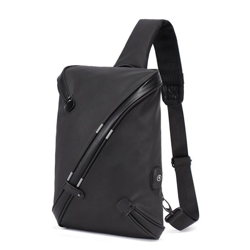5f925365bfd3 Waterproof Messenger Bag Men Leather Multipurpose USB Charge Chest Pack  Sling Shoulder Bags For Men Casual Crossbody Bolsas 2018 Purses On Sale  Hobo Purses ...