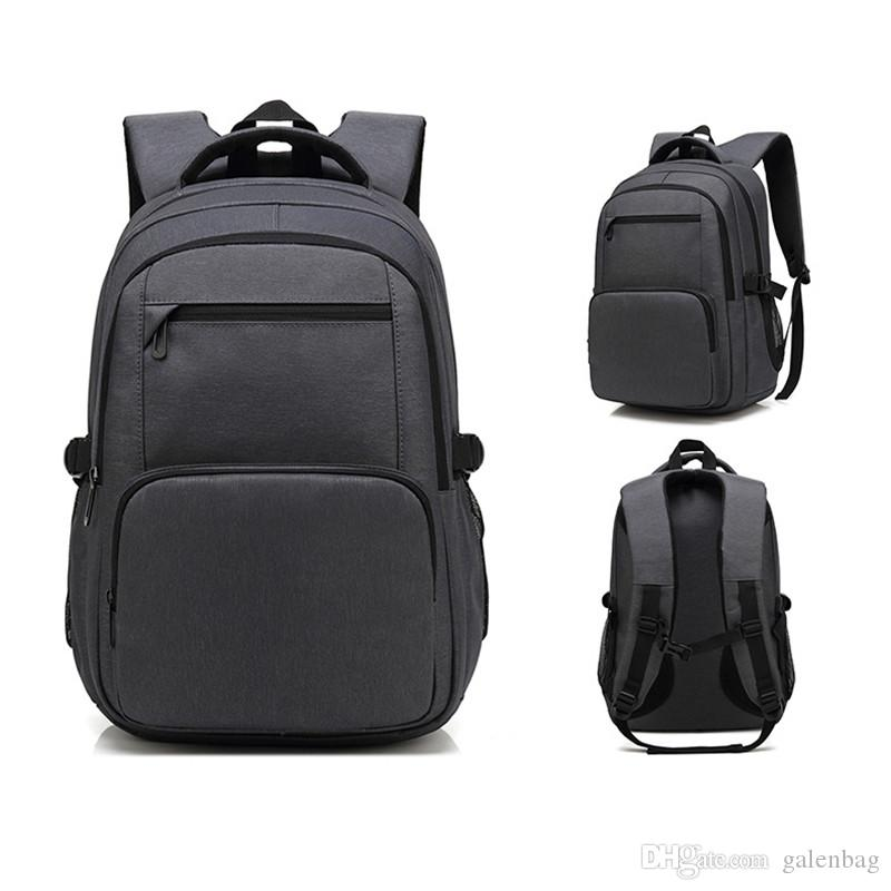 Workplace Office Bag Casual Fashion Backpack High School Business Travel  Laptop Computer SchoolbagBlack And Blue School Backpacks Cool Backpacks  From ... 5753517d9074