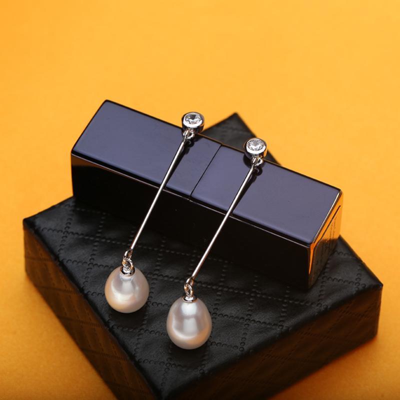 WATTENS натуральный жемчуг серьги для женщин, стерлингового серебра 925 серьги ювелирные изделия перлы аксессуары, свадьба событие для любви