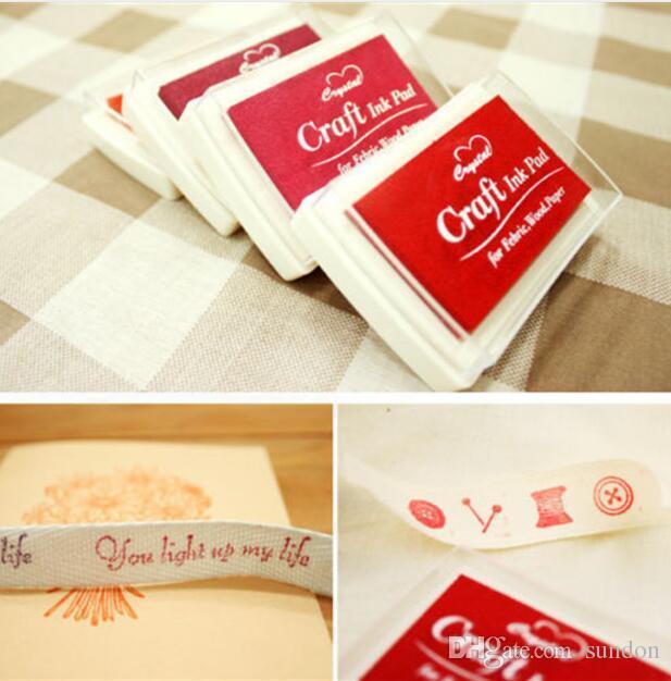 Craft Ink pad Colorful Cartoon Ink pad Ink stamp pad