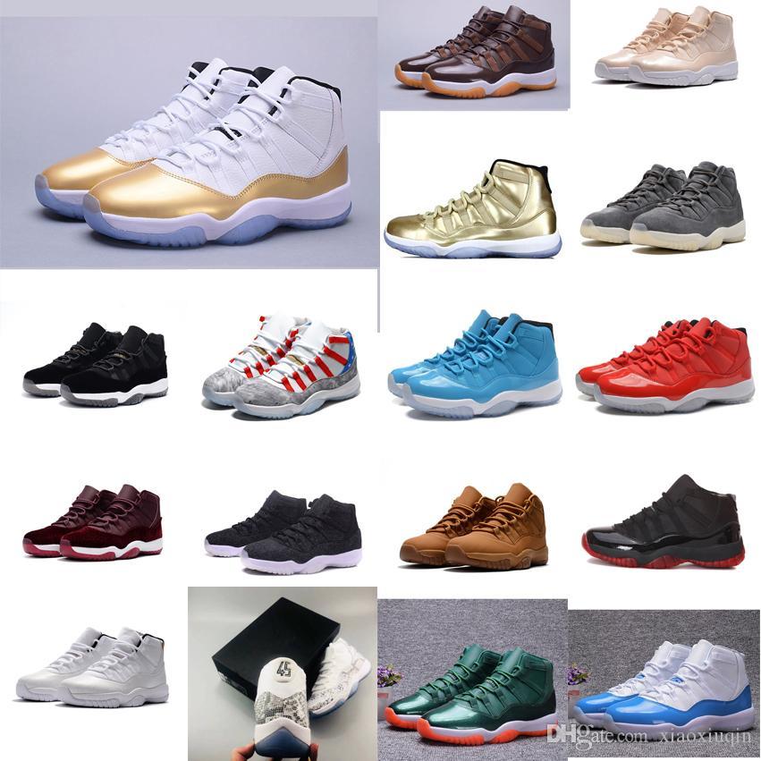 add029b227fa4d Retro Mens 11s Basketball Shoes for Sale High Quality J11 Closing ...