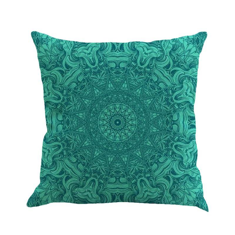 Colorful Style Mandala Bohemia Design Cushion Fashion Creative Soft Pillowcase For Bed Car Seats Practical Pillow Case 5 5ny Z
