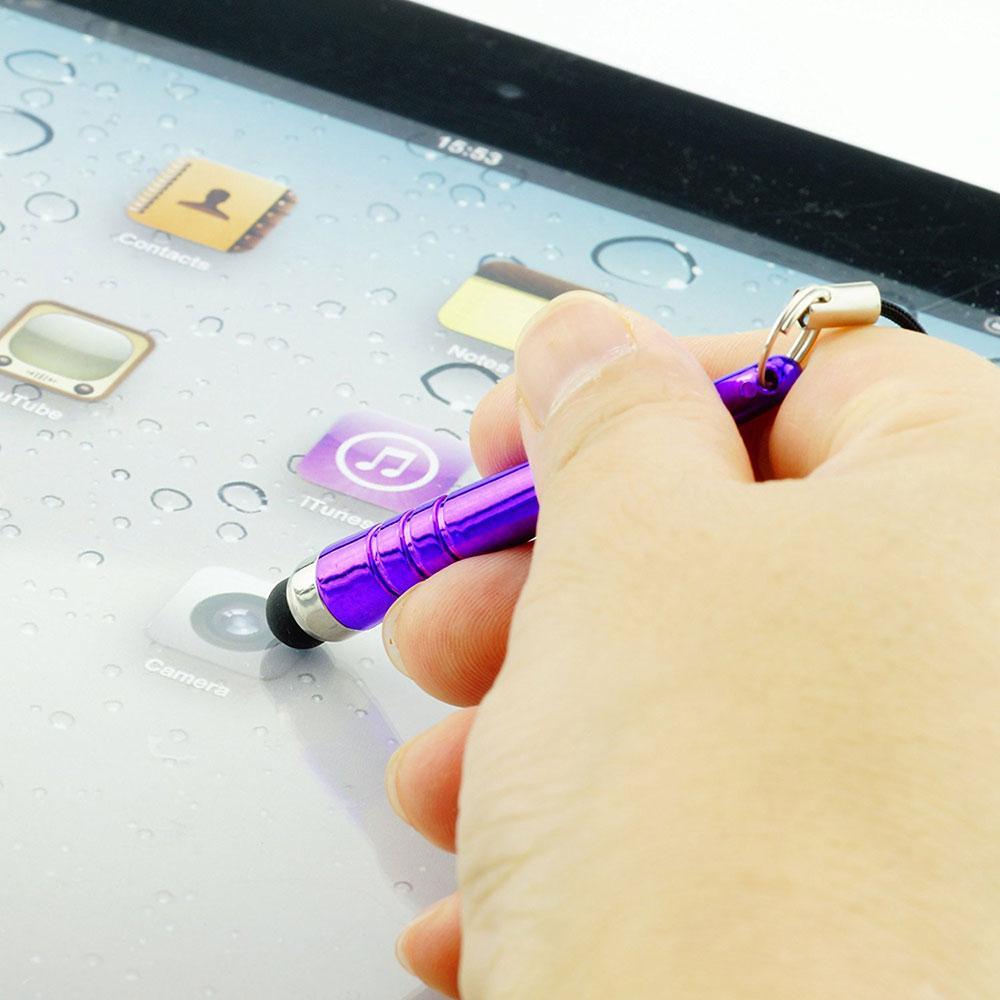 مصغرة البيسبول ستايلس شاشة اللمس القلم المطاط طرف ستايلس القلم مع 3.5 ملليمتر الغبار التوصيل ل فون سامسونج s3 s4 غالاكسي ملاحظة 3 باد 3 5