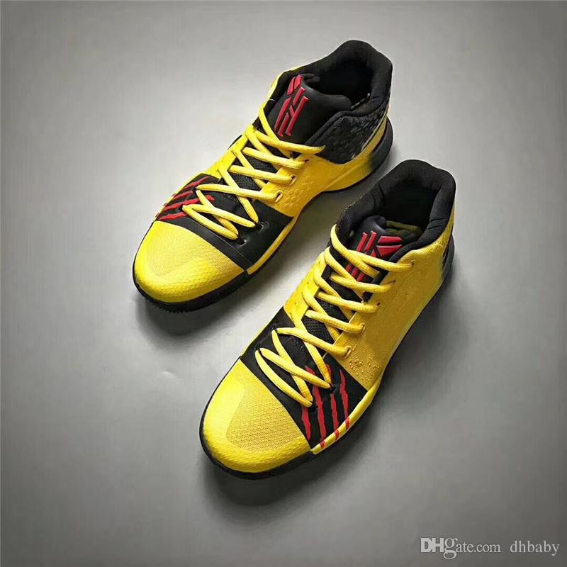 kyrie irving mens yellow
