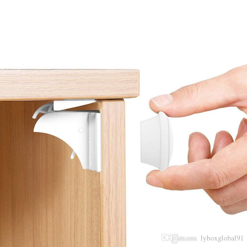 Baby Safety & Health Baby Proofing 4 X Invisible Magnetic Baby Child Pet Proof Cupboard Door Drawer Safety Lock