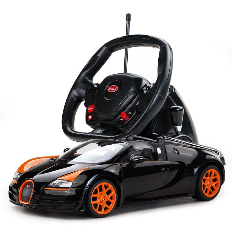star bugatti steering wheel remote children's toys car, remote