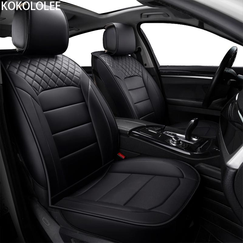 Wholesale KOKOLOLEE Pu Leather Car Seat Covers For KIA All ...
