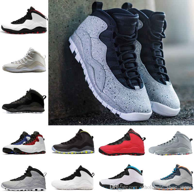 ff8ddd17788e 2018 New Arrival Cement 10s Mens Basketball Shoes Class Gym Westbrook Cool  Grey I M Back 10 Trainers Sneaker Men Sports Shoe Size 8 13 From ...