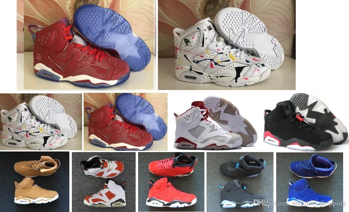 6afc5b85ad3b 6 6s CNY China Year Men s Casual Shoes Slam Dunk Pantone GS Pinnacle ...