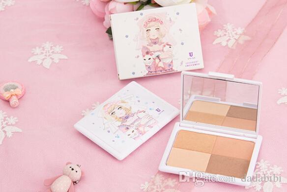 NUOVO ARRIVO UKISS BRAND Bronzers Evidenziatori Blush e Concealer i utilizzare il makeup pad SPEDIZIONE GRATUITA