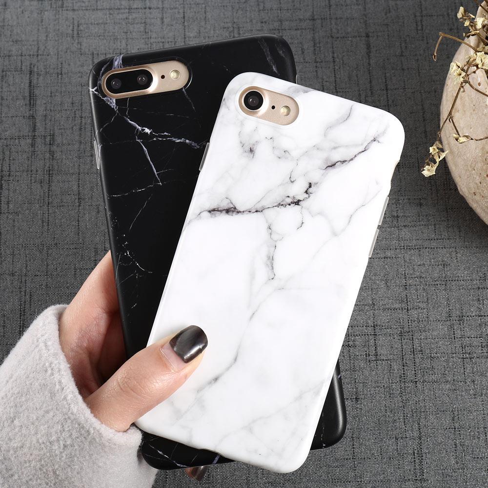 iphone 6 hülle marmor schwarz weiß