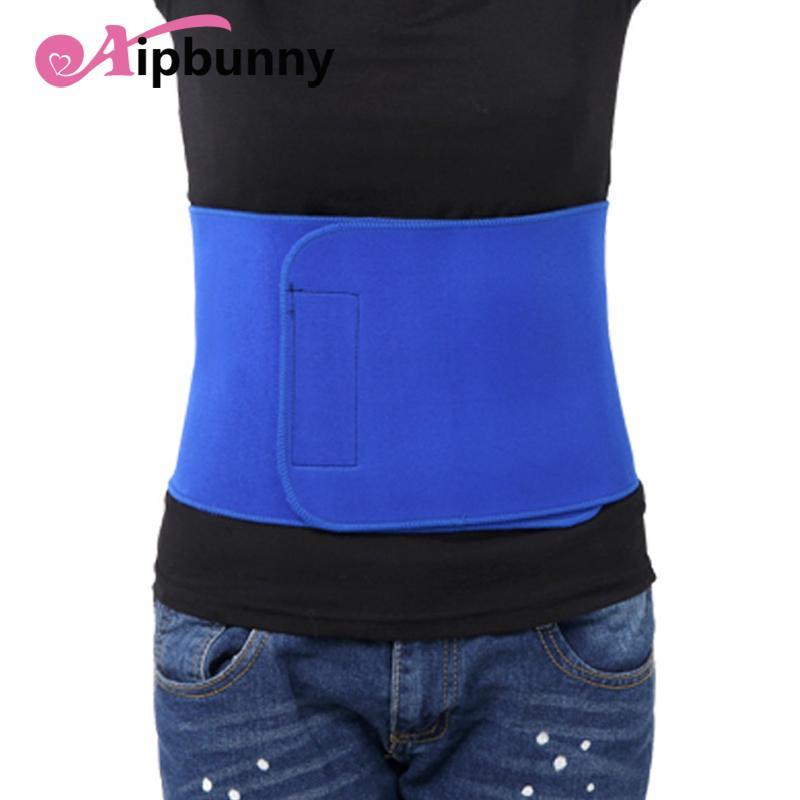 bfc57cc9d1 2019 Adjustable OK Clothes Waist Trimmer Breathable Sport GYM Fitness Belt  Unisex Slim Back Belts Lumbar Waist Support Brace Pads From Hineinei