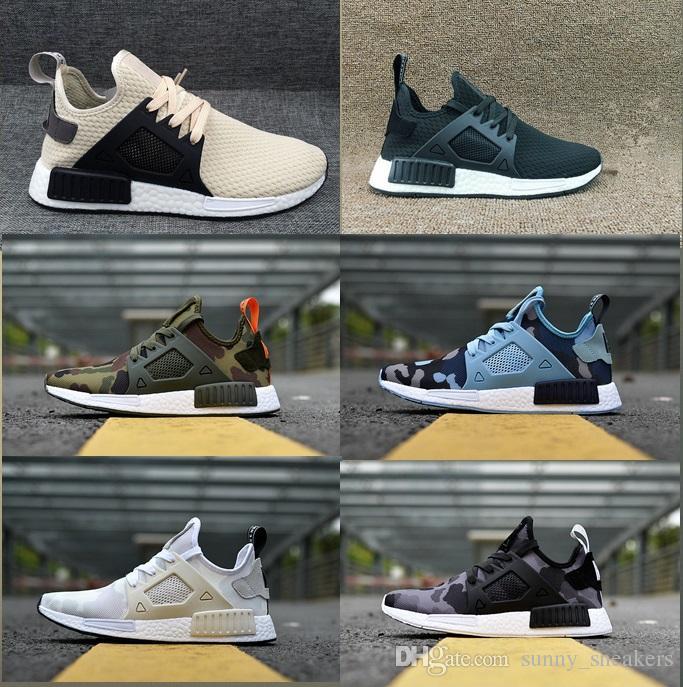 Acquista Adidas NMD R1 All ingrosso R1 Running Shoes Primeknit PK Donna  Scarpe Da Corsa Di Alta Qualità Tripla Rosso Nero Bianco Viola Rosa Grigio  Runner ... 499a5d786ca