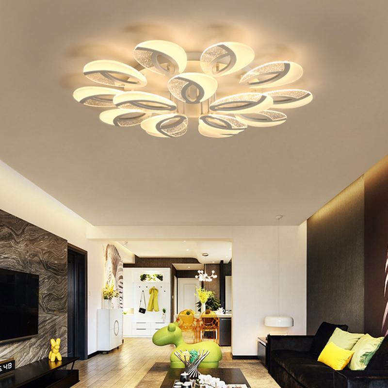 Großhandel LED Wohnzimmer Deckenleuchten Moderne Leuchten Heimwerker ...