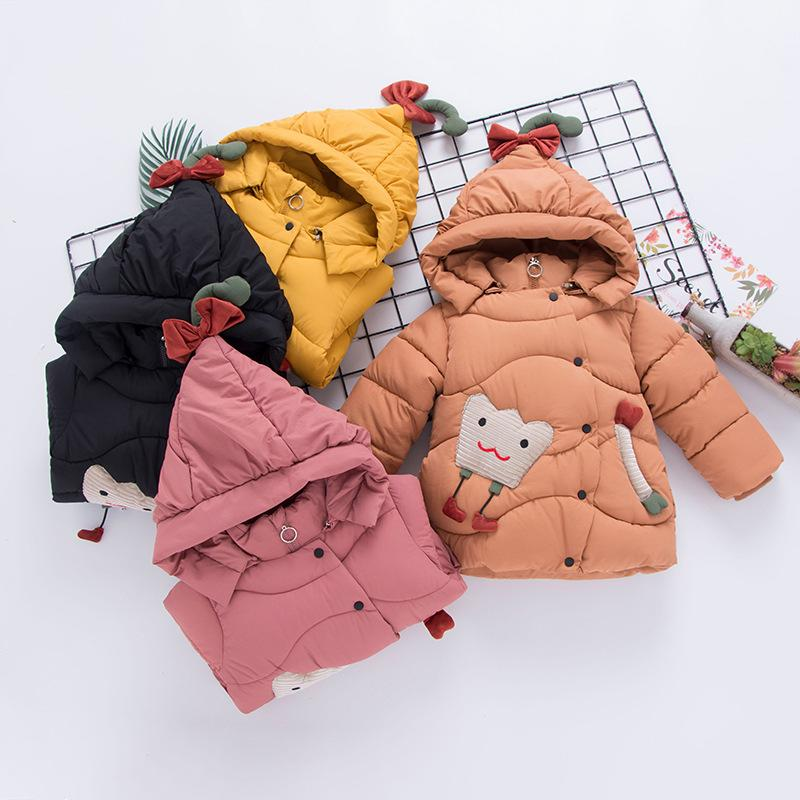d24237410 2018 Girls Cotton Winter Warm Thick Cotton Padded Jacket Clothing ...