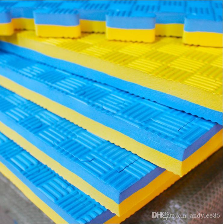 Colored Interlocking Exercise eva tatami judo mats