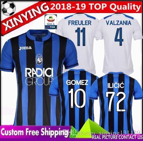 2019 NUEVA Italia Atalanta B.C. Camisetas 18 19 Atalanta INICIO LEJOS  Camiseta De Fútbol GOMEZ GOSENS 2018 CORNELIUS CRISTANTE Por Xinying131129 4dbe79428e91f