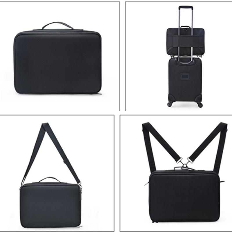 LHLYSGS Brand Suitcases Multi-storey Large Professional Cosmetic Case Nail Pattern Semi-permanent Tool Box Storage Makeup Bag