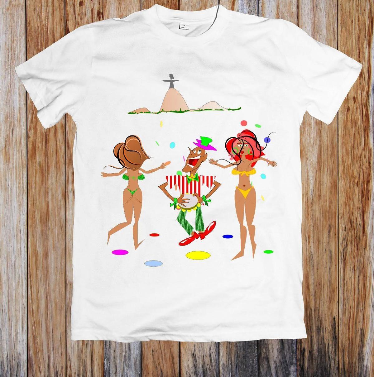 Compre 08 Rio Amesion25 A12 Camiseta Del Funny Carnaval En Unisex Lq3Rc45Aj