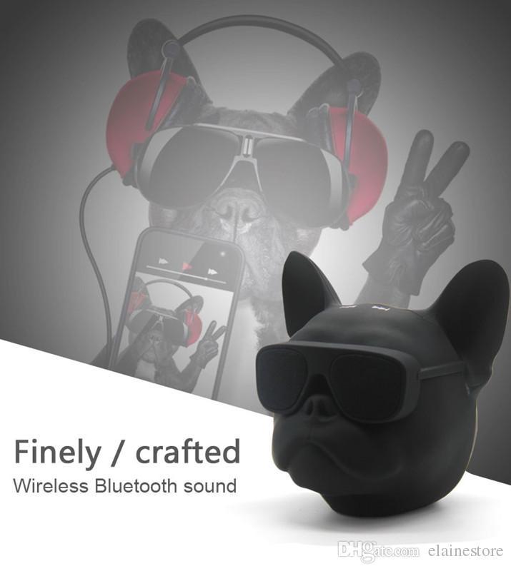 Aero Bulldog Wireless Speaker Portable Outdoor Wireless Bluetooth Speaker Subwoofers TF Card Handfree For iphone Samsung MP3 Tablet PC