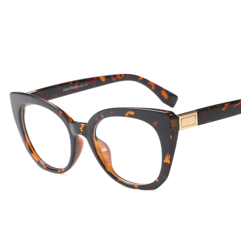 3b7442c89115 SHELI Fashion Cateye s Glasses Frame Ladies Spectacles Brand Designer  Optical Myopia Eyewear Eyewear Designer Sunglasses From Juaner