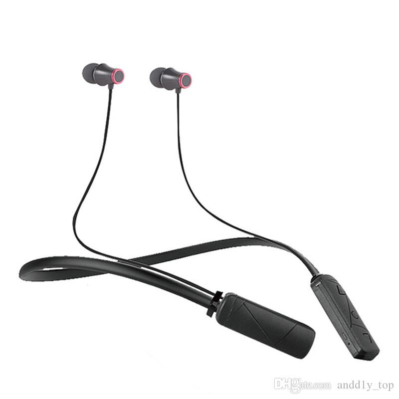 HWS610 Earphone Necklace Bluetooth Headset Earphone Sports Bluetooth High Quality With Package For Iphone X 8 Plus Samsung Note8 Huawei LG