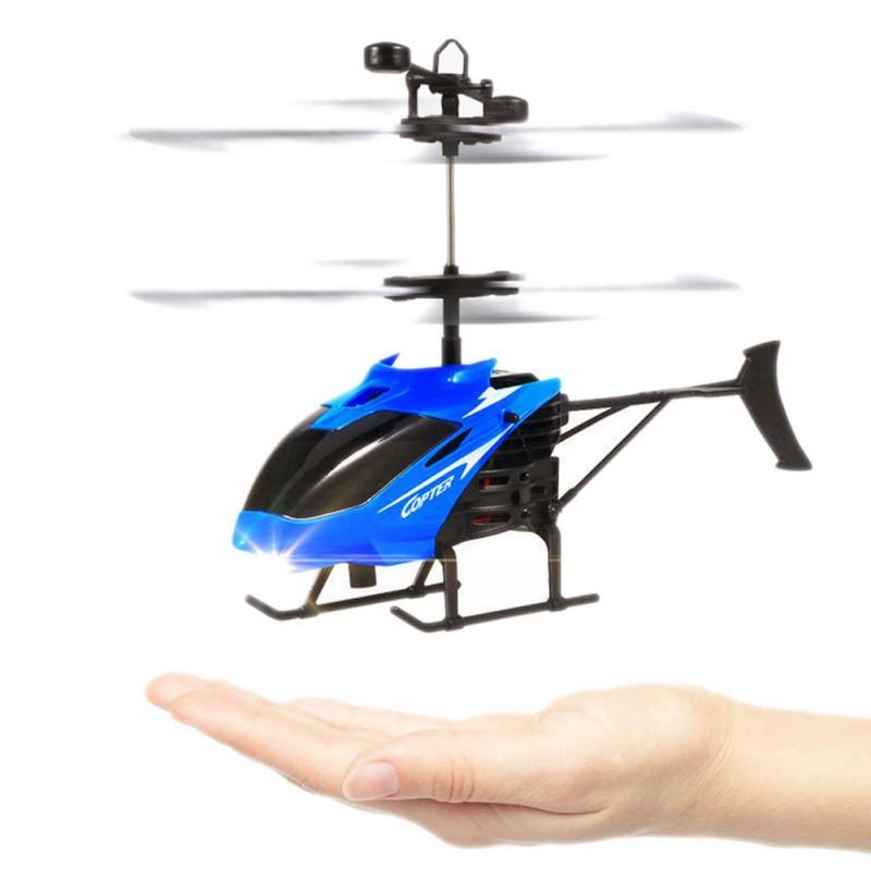 Mini Rc Helicopter 3d Gyro Helicoptero With Usb Charging Cable Kids
