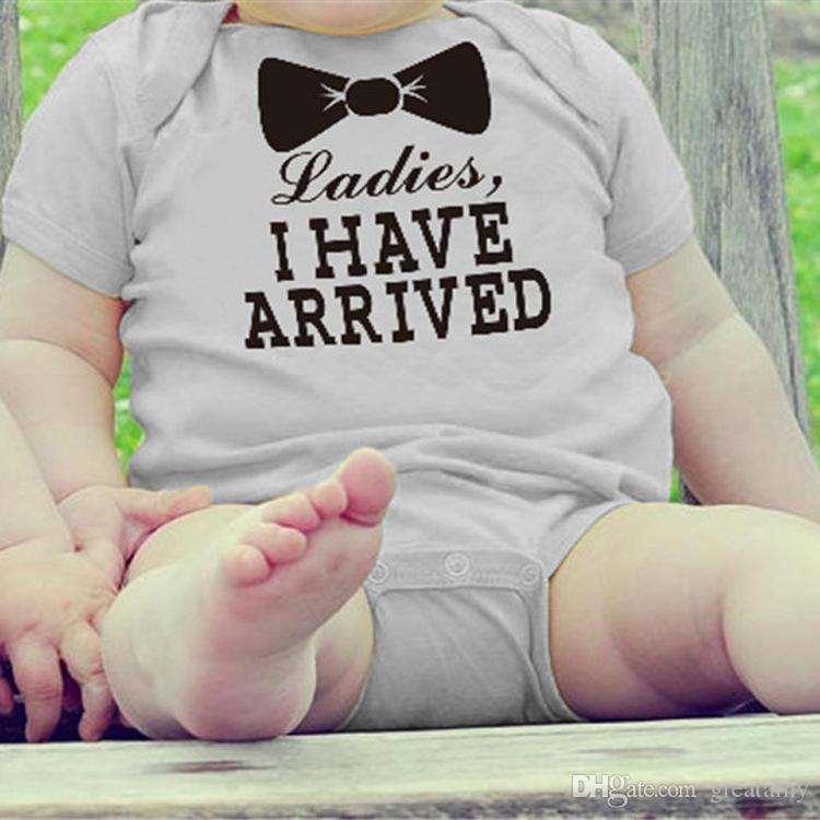 Lindo mono de oro recién nacido mono mono increíble regalo de la ducha del bebé recién nacido bebé niñas niño mameluco del bebé ropa de bebé mameluco de algodón