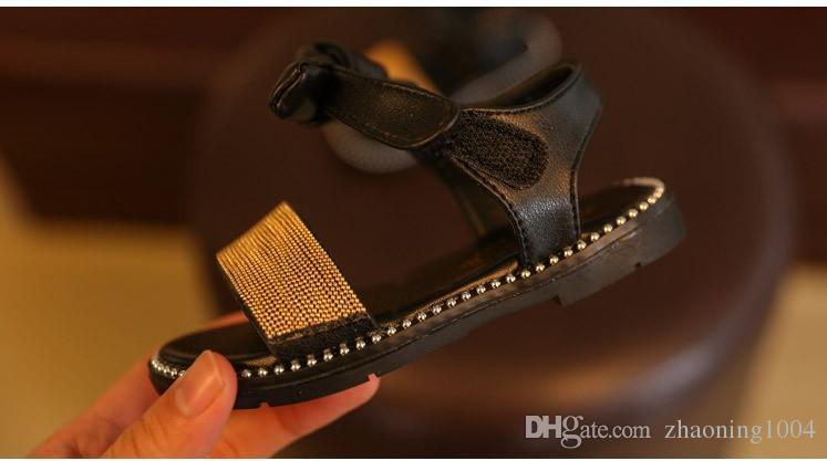 Designer Sommer Kinder Schuhe Mädchen Sandalen Hochwertige Baby Mädchen Turnschuhe Kleinkind Strand Schuhe Für Kinder Verkauf