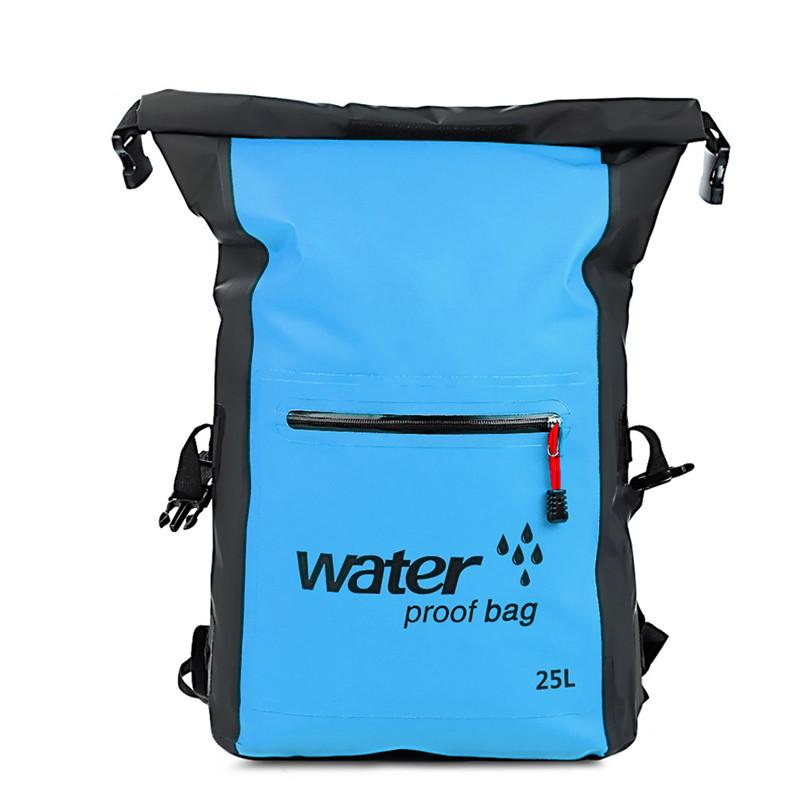 77c0532b9a0c 2019 25L Outdoor Waterproof Dry Bag Backpack Rucksack Storage Pack Sack  Swimming Rafting Kayaking Camping Floating Sailing Canoe Boat From  Hcaihong