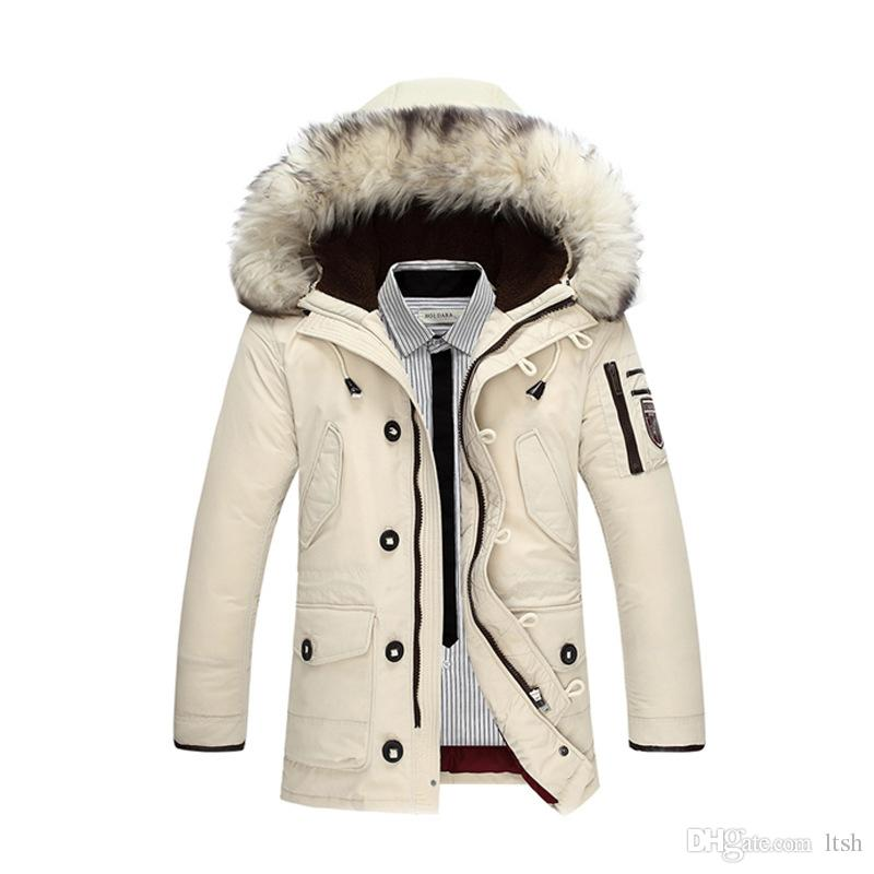 Vêtements pour hommes doudoune mens manteau d'hiver doudoune doudoune cardigan hiver
