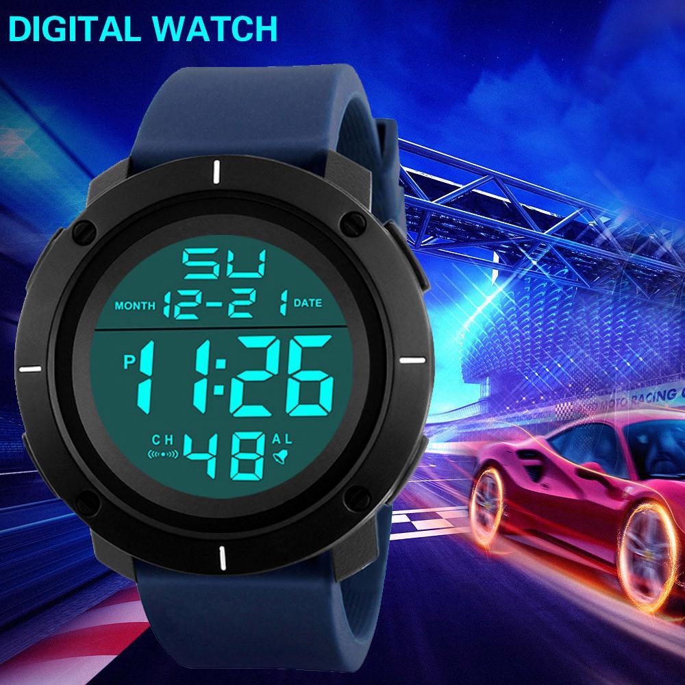664b16a114b HONHX Luxury Mens Watch Analog Digital Army Sport LED Wrist Watch Luminous  Male Watches Montre Homme Relogio Digital Buy Wrist Watches Online Online  ...