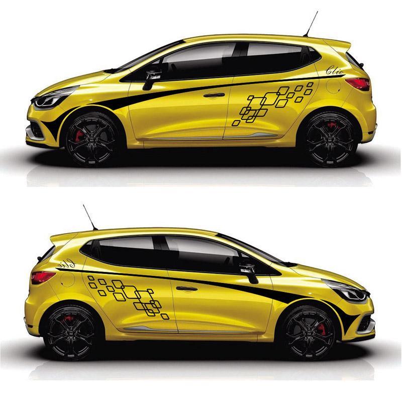 2019 Taiyao Car Styling Sport Car Sticker For Renault Clio Car