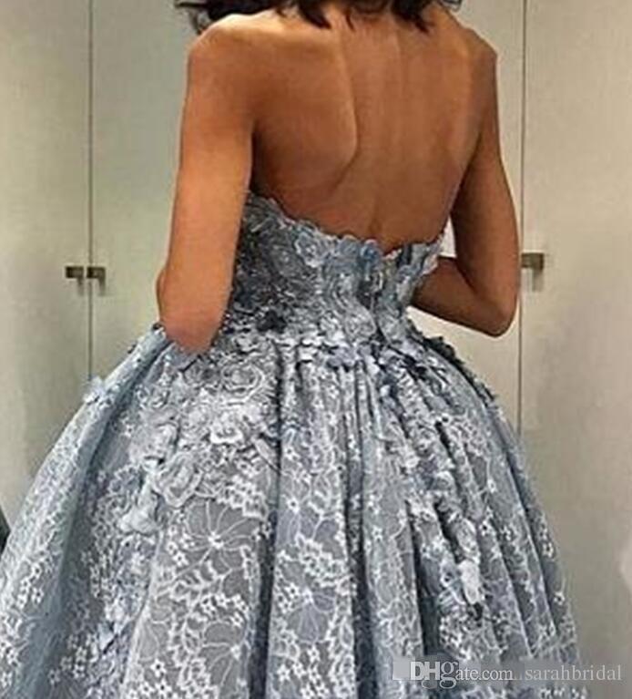 2019 Seksi Örgün Elbise Yüksek Düşük Dantel Gelinlik Modelleri Uzun Mütevazı Straplez Özel Durum Ithal Parti Elbise Vestido
