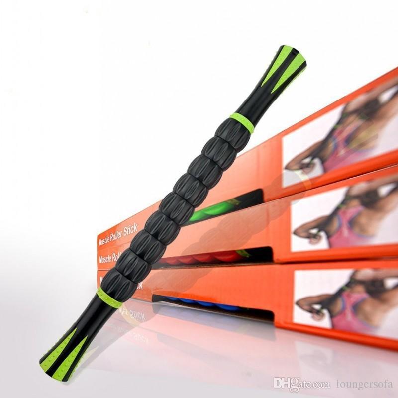 3D Muscle Roller Vara Reduzir Pressão Relaxar Fascia Boby Massagem Varas Promover A Circulação Sanguínea Suprimentos de Fitness Venda Quente 19tt B