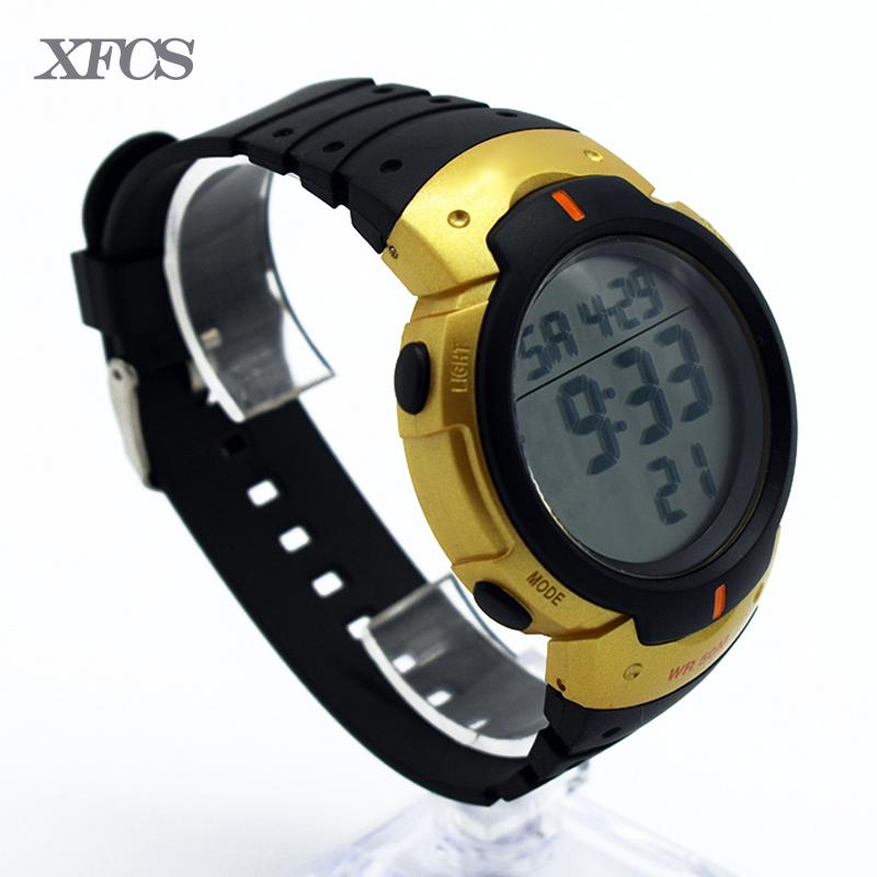 13c5bf655098 XFCS Waterproof Wrist Digital Watches For Men Digitais Watch Running Mens  Man Digitales Clock Accurately Ots Army Multi Color Sale Watches Watches  Online ...