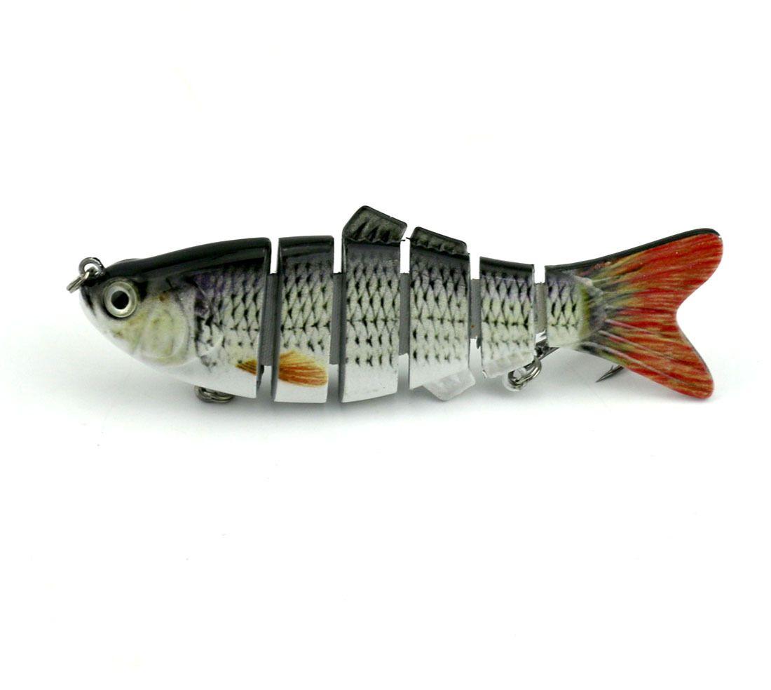 Fishing Wobbler Lifelike Fishing Lure 6 Segment Swimbait Crankbait Hard Bait 10cm 18g Artificial Lures Fishing Tackle