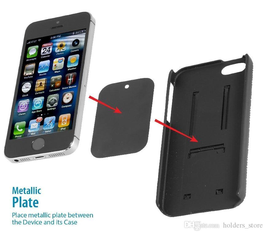 아이폰 삼성 화웨이 오포 미니 태블릿을위한 빠른 스위프트 - 스냅 기술을 범용 에어 벤트 자기 전화 자동차 마운트 홀더 6 컬러